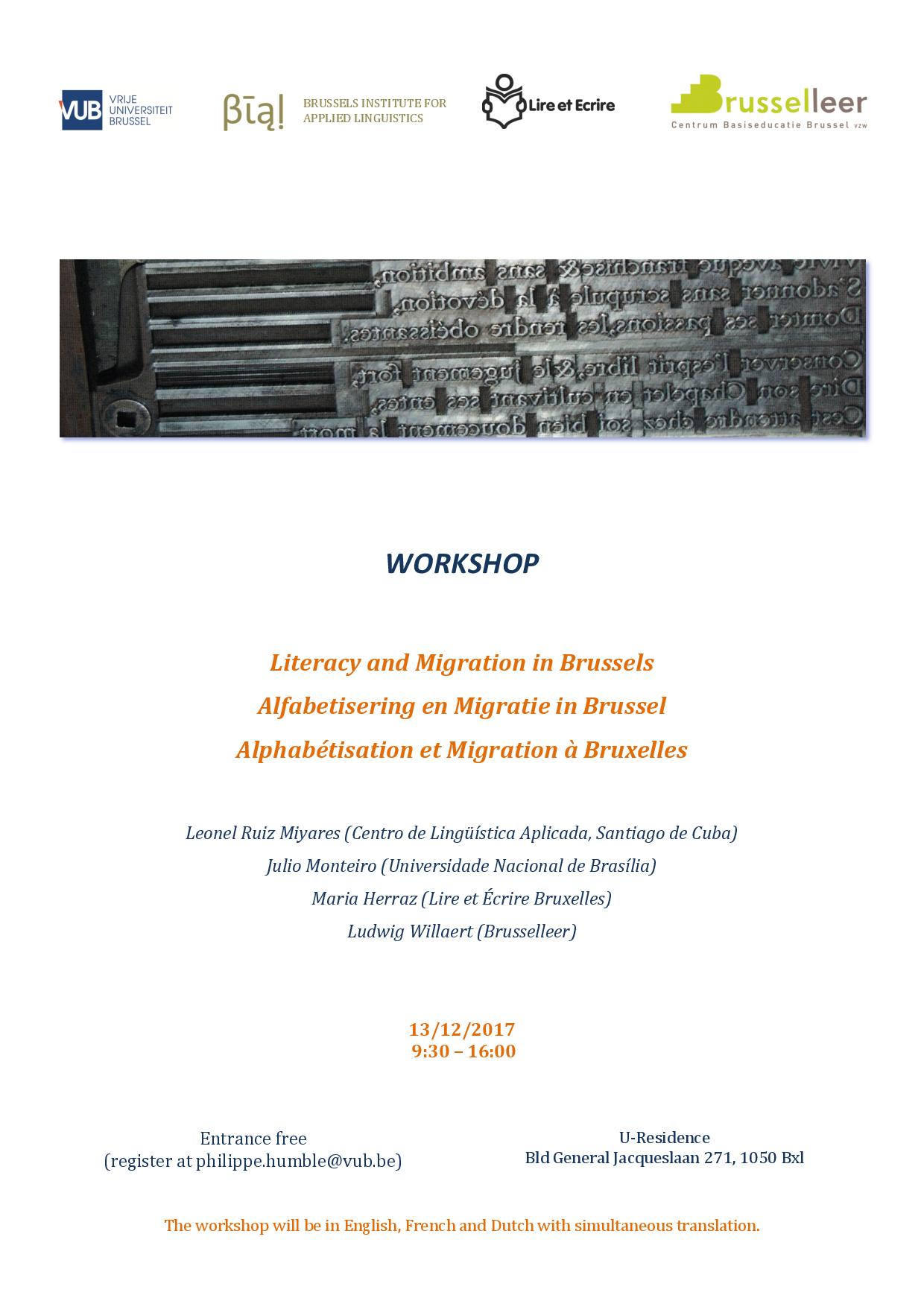 Literacy and Migration in Brussels